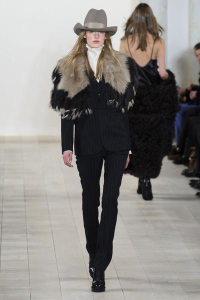 Показ Ralph Lauren на Неделе моды в Нью-Йорке | галерея [1] фото [4]