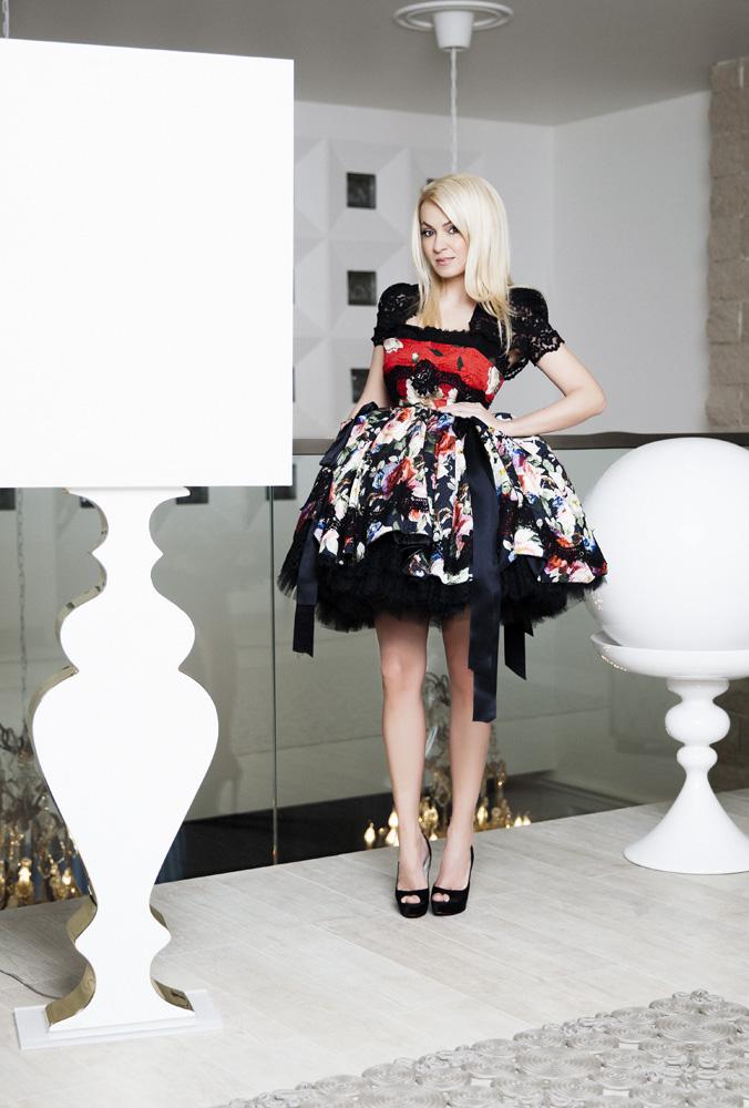 Платье, Dolce & Gabbana, для аукциона Натальи Водяновой