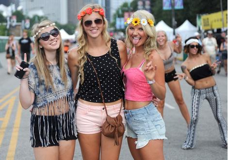 Street style гостей фестиваля Lollapalooza 2014