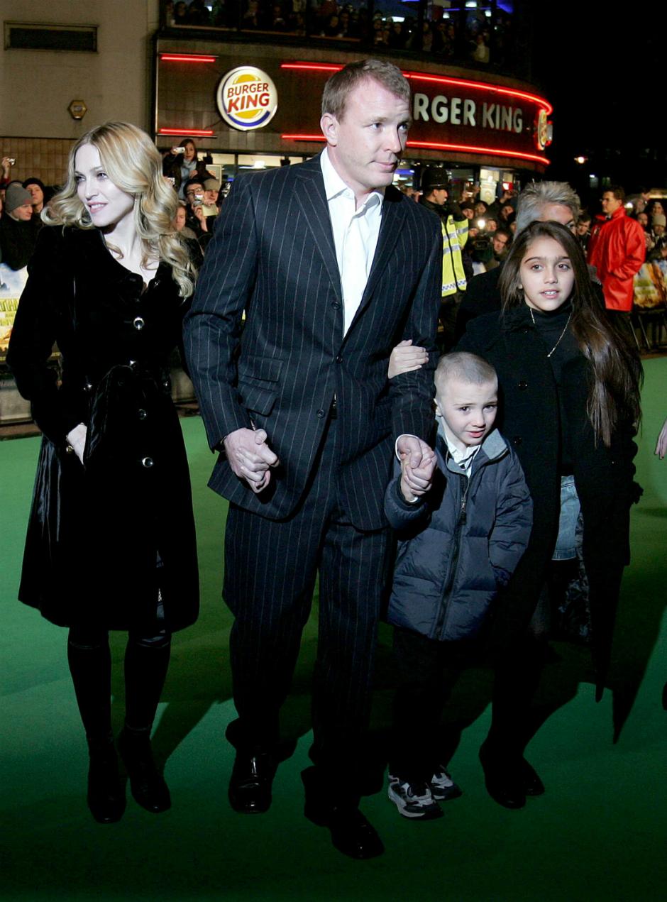 Мадонна, Гай Ричи и дети