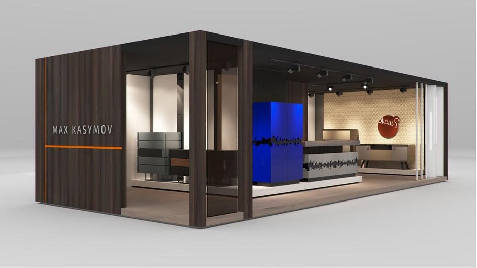 Стенд студии Max Kasymov Interior/Design. Maison & Objet. Hall 5b. Actuel. D30