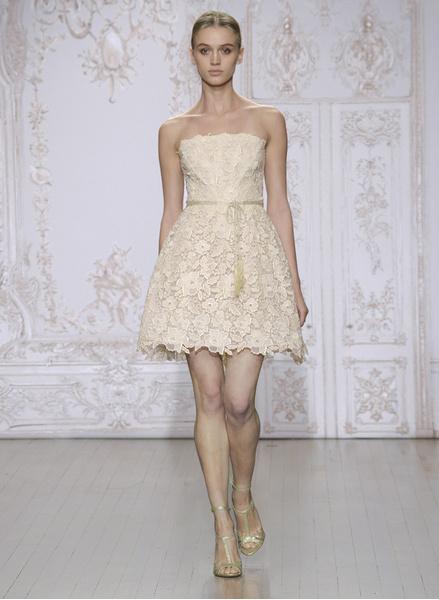 12 коротких платьев для невесты | галерея [1] фото [6]