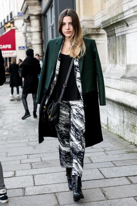 street style на неделе высокой моды 2014