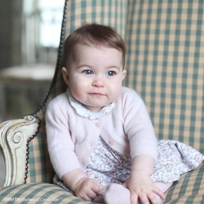 Принцесса Шарлотта Кембриджская