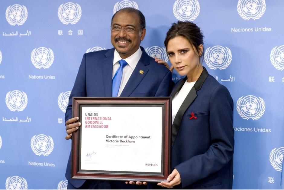 Виктория Бекхэм Посол доброй воли ООН
