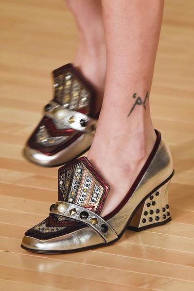 Самая красивая обувь Недели моды в Нью-Йорке | галерея [1] фото [4]