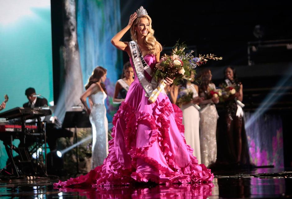 Оливия Джордан - новая «Мисс США»