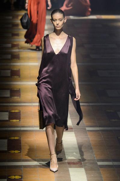 Показ Lanvin на Неделе моды в Париже