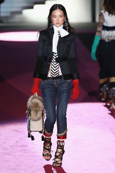 Показ DSquared2 на Неделе моды в Милане | галерея [2] фото [23]