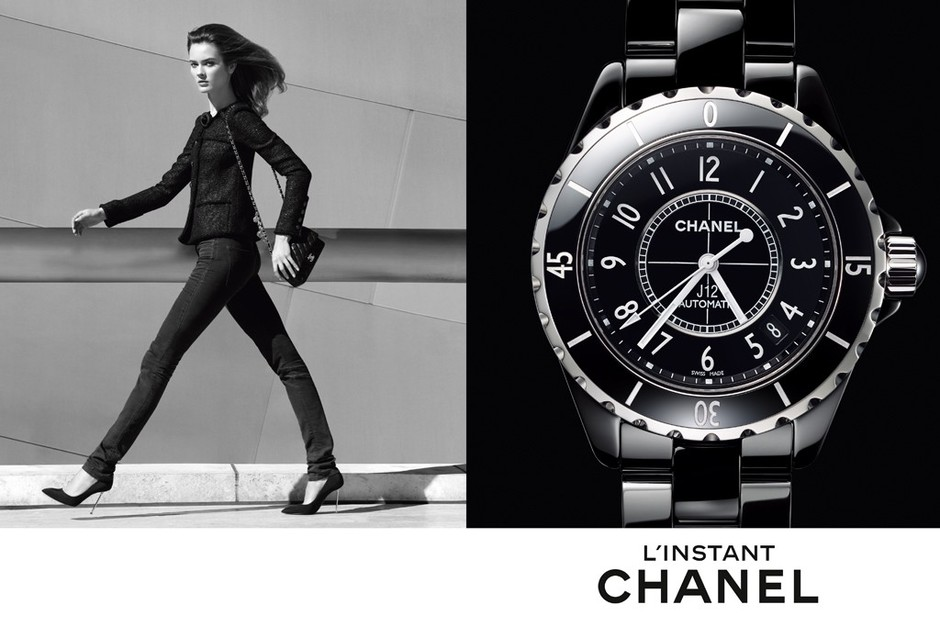 Снимок Патрика Демаршелье для Chanel