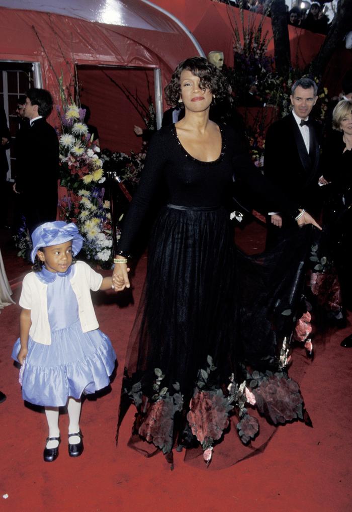 Бобби Кристина Браун в детстве