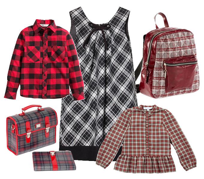 Выбор ELLE: платье Tegin, блузка Tartine et Chocolat, рубашка H&M, рюкзак Pinko, школьные аксессуары Dolce&Gabbana