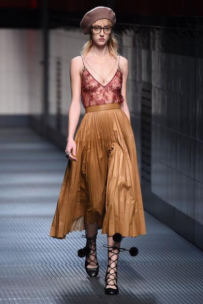 Показ Gucci на Неделе моды в Милане | галерея [1] фото [34]