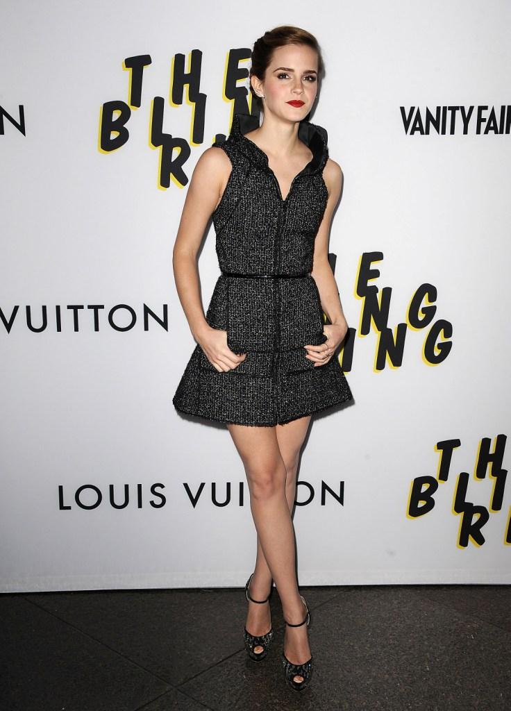 Эмма Уотсон в Chanel, премьера фильма «Элитное общество» в Лос-Анджелесе