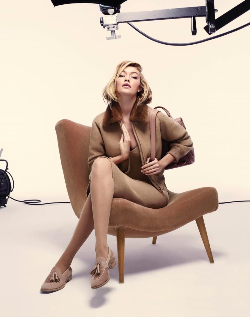 Джиджи Хадид стала лицом рекламной кампании Max Mara
