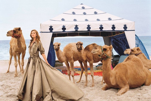 Платье в стиле сафари от Ralph Lauren