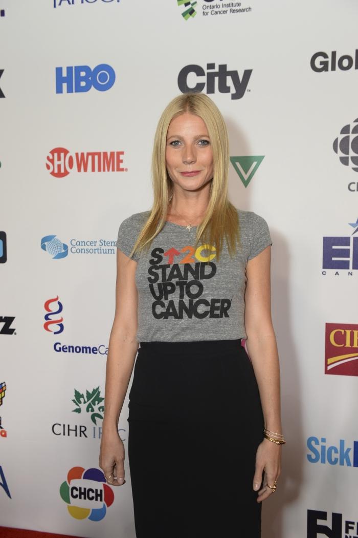 Благотворительный вечер Stand Up To Cancer