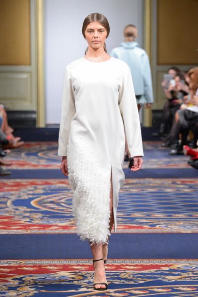 Показ осенне-зимней коллекции Ruban на Mercedes-Benz Fashion Week RussiaПоказ осенне-зимней коллекции Ruban на Mercedes-Benz Fashion Week Russia | галерея [2] фото [16]