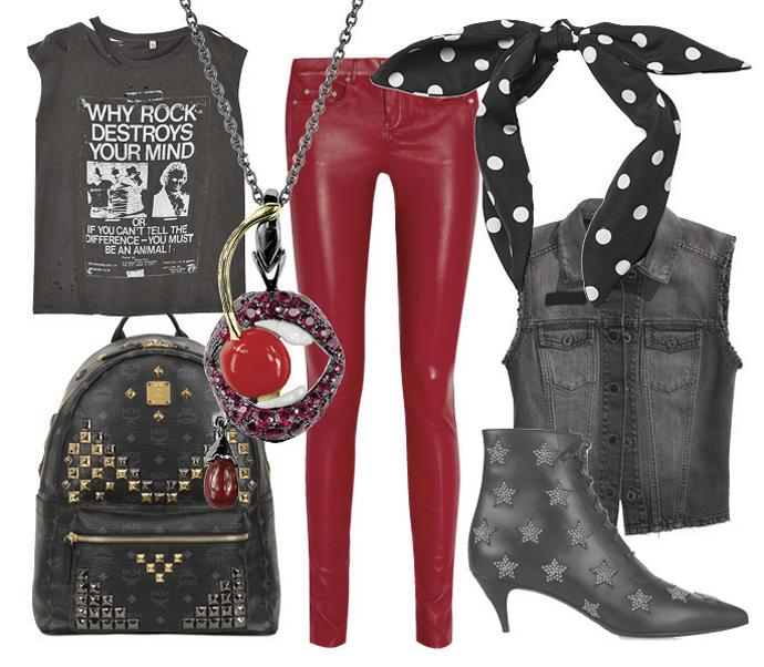 Как одеться на рок-концерт: яркая личность