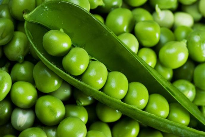 Зеленый горошек 1