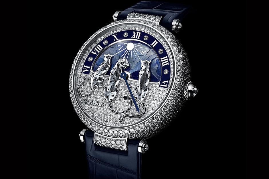Часы Rêves de Panthères, Cartier