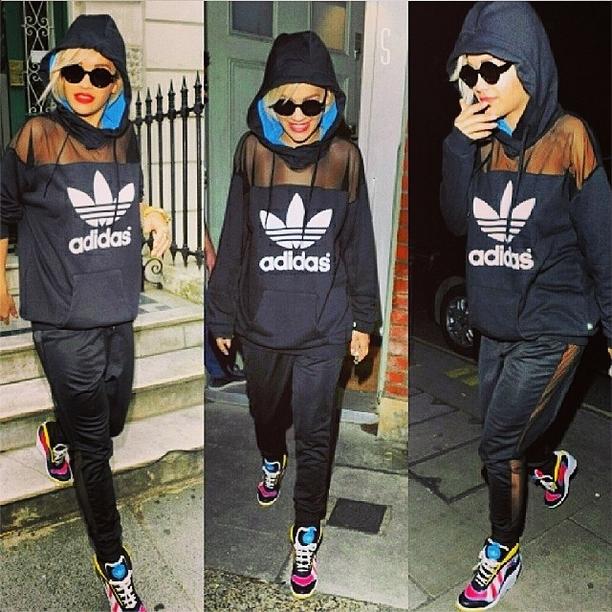 Певица Рита Ора: уличный стиль