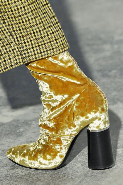 Самая красивая обувь Недели моды в Нью-Йорке | галерея [1] фото [9]