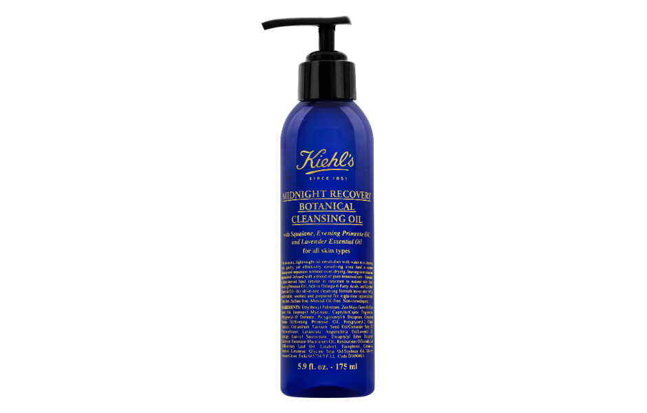 Масло для снятия макияжа и очищения кожи лица Midnight Recovery Botanical Cleansing Oil от Kiehl's