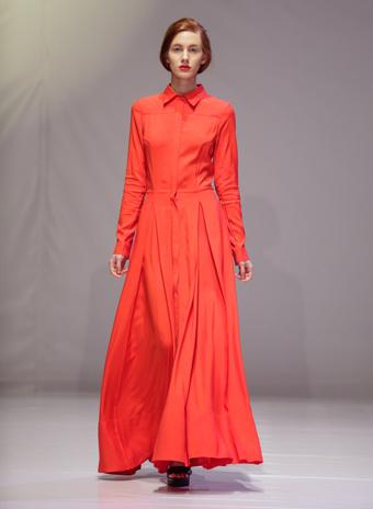 ksenia schnaider kiev fashion days