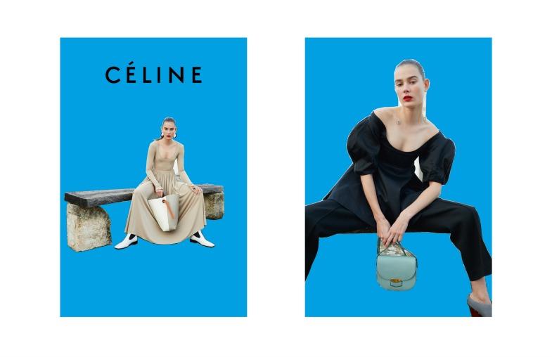 Все абстрактно: новая рекламная кампания Céline