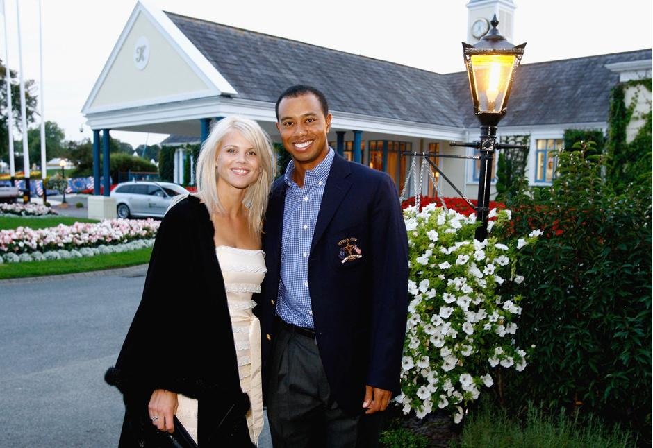 Элин Нордегрен и Тайгер Вудс, 2006 год
