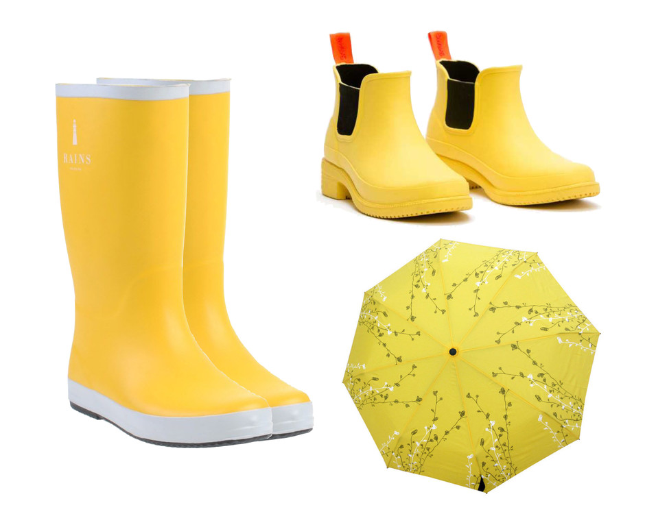 тренд сезона желтый цвет
