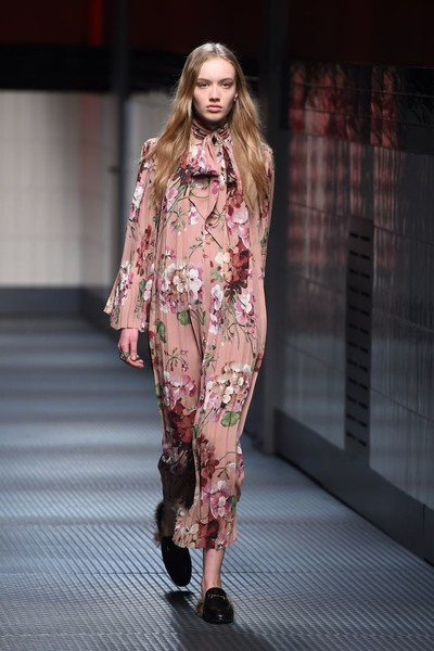 Показ Gucci на Неделе моды в Милане | галерея [1] фото [22]