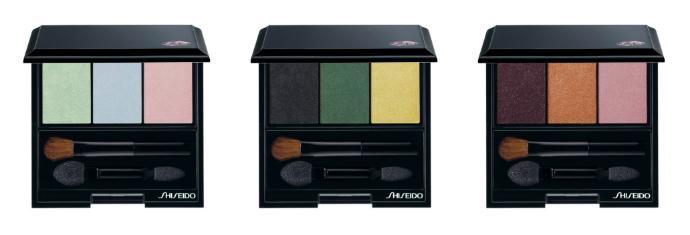 Тени-трио для век с шелковистой текстурой и эффектом сияния от Shiseido
