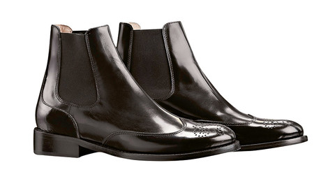 Ботинки из кожи, Escada, 20 000 руб.