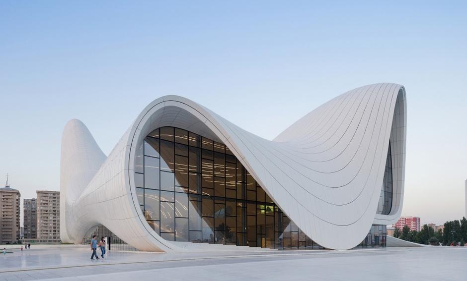 Центр Гейдара Алиева, Баку