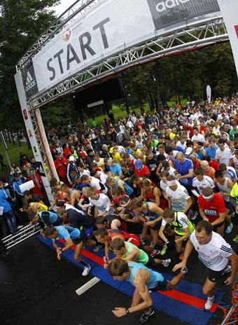 Московский марафон стартует во второй раз