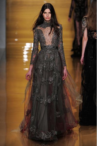 Black tie: показы Carolina Herrera, Reem Acra и Zac Posen на Неделе моды в Нью-Йорке | галерея [3] фото [8]