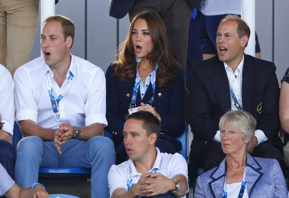 Принц Уильям с женой: фото