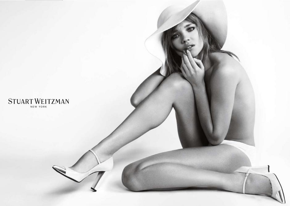 Супермодели в рекламной кампании Stuart Weitzman