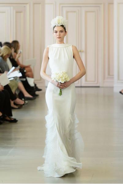 Дом Oscar de la Renta представил новую свадебную коллекцию | галерея [1] фото [18]