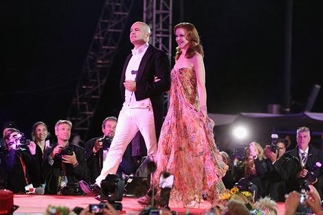 Билли Зейн и Марсия Кросс