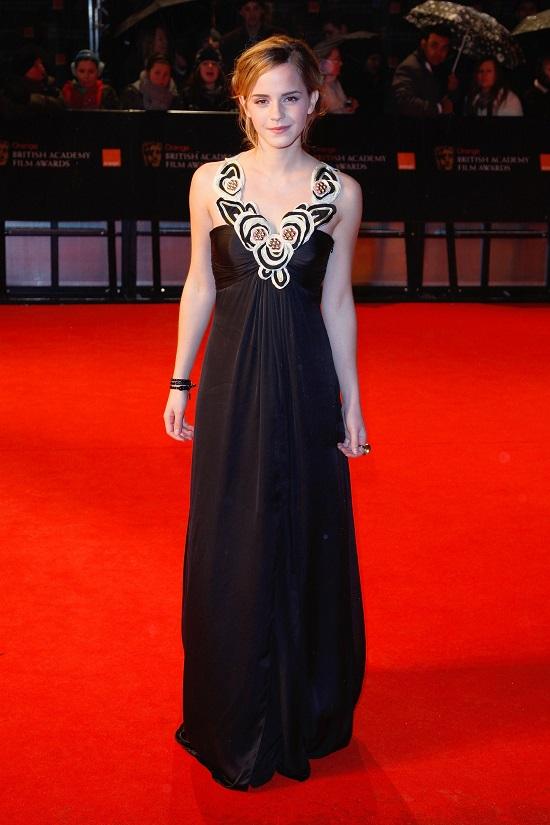 Temperley на церемонии BAFTA в Лондоне, 2009