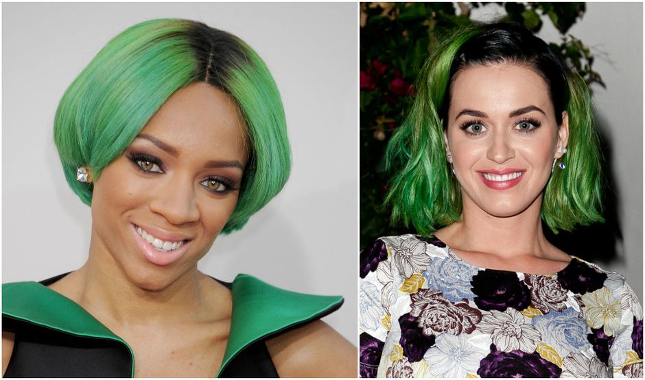 Знаменитости с зелеными волосами