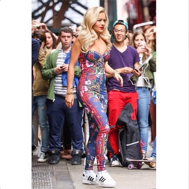Коллекция Rita Ora x Adidas