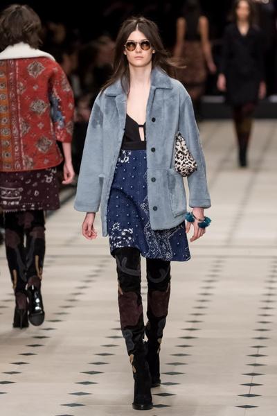 Показ Burberry Prorsum на Неделе моды в Лондоне | галерея [1] фото [21]