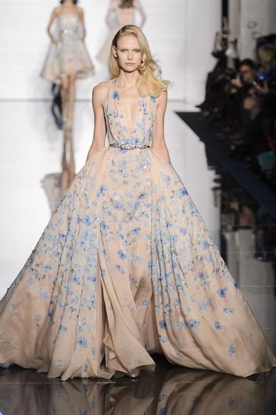 Показ Zuhair Murad Haute Couture | галерея [1] фото [10]