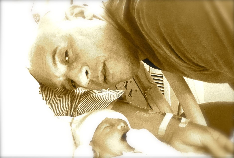 Вин Дизель с новорожденной дочерью
