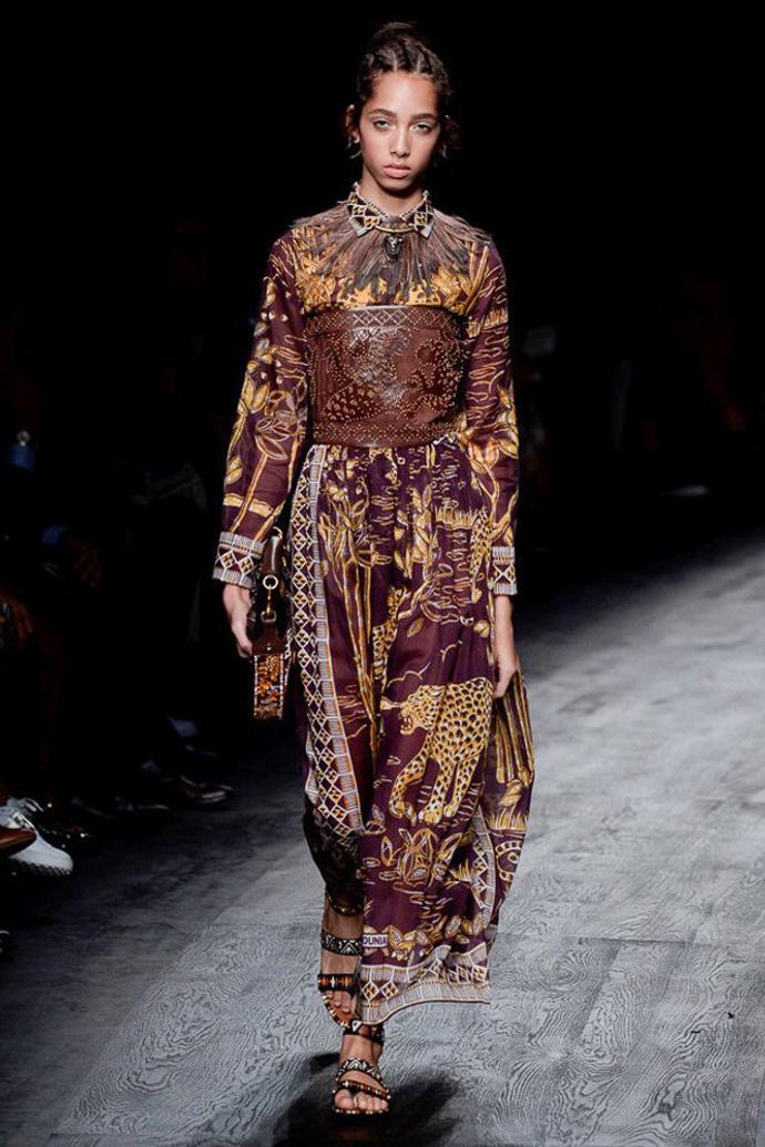 Африканские страсти: весенне-летняя коллекция Valentino