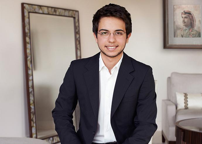 Иордания: принц Хуссейн, 21 год